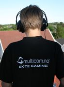 "Multicom T-Shirt ""EKTE GAMING"" Small"