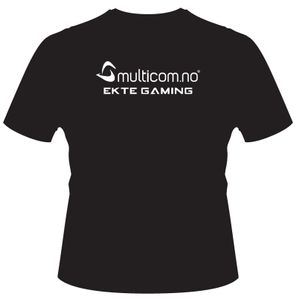 "T-Shirt ""EKTE GAMING"" XX-Large (MULTICOM-TSHIRT-XXL)"