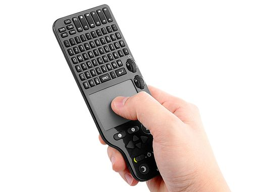 Web@TV Wireless Keyboard Touchpad with Remote Control
