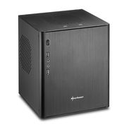 Sharkoon CA-I BLACK MINI-ITX - PC CASE 2XUSB2.0/ 2XUSB3.0 213X225X259MM