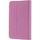 """Deksel for 7"""" nettbrett opptil 190x120mm,  beskyttende innside, støttefunksjon og strikklåsing,  rosa"""