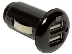 GP XPC02 AutoPower 2.1A billader USB-adapter for 12V (405033)