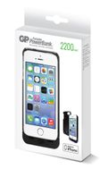 022 Portable Powerbank 2200 Ladedeksel for iPhone 5/5S Black