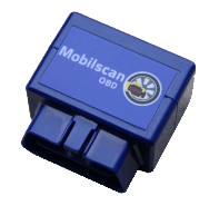 Mobilscan OBD feilkodeleser for Android Bluetooth