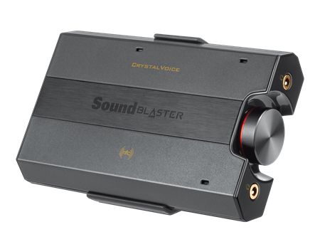 Creative Sound Blaster E5 USB-DAC for smarttelefoner,  nettbrett,  PC og Mac