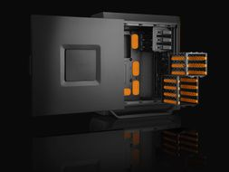 BE QUIET! Silent Base 800 Orange ATX, Midi Tower (BG001)