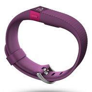 FITBIT Charge HR med pulsmåler Small, BT4, Plum (FB405PMS)