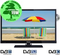 "24"" Nordic Edition HD LED-TV/ DVD,  12V/230V, Wi-Fi, Smart-TV, RiksTV-tuner,  HDMI, VGA, USB PVR, kun 19-24W, 24FLZR274LVDC"