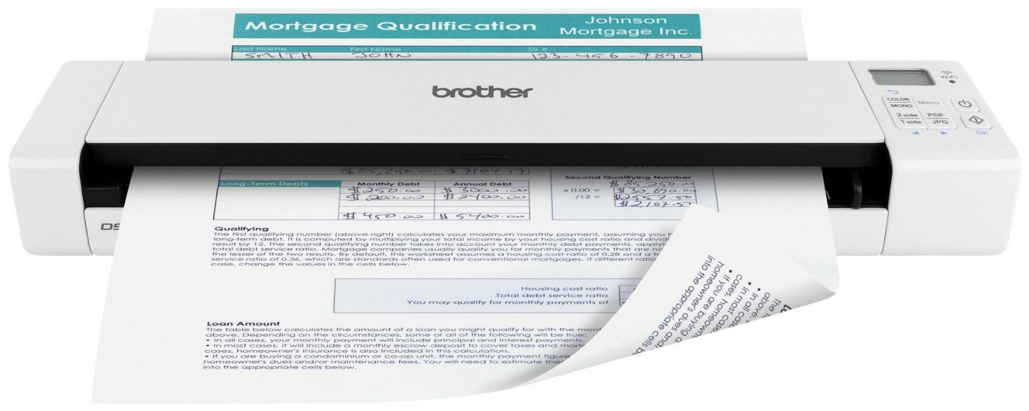 Brother DS-920W Trådløs tosidig skanner (DS920DWZ1)
