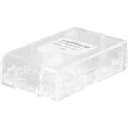 Raspberry Pi Transparent plastkabinett