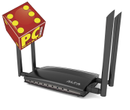 Alfa Network AC1200R Wide-Range Wi-Fi Router Ultrafast Dual band - high speed 867Mbps - Demomodell
