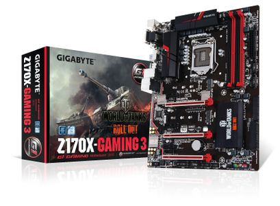 Gigabyte Z170X-Gaming 3 LGA1151 ATX DDR4, PCIe x16, 2x M.2, USB3.1 Type-C - Demovare (GA-Z170X-Gaming 3-EU-Demo)