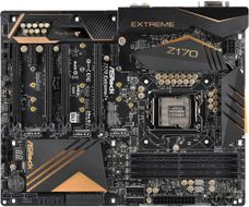 Z170 Extreme7+ LGA1151 ATX DDR4, 4x PCIe 3.0 x16, 3x M.2, 4x USB 3.1 (2 Type-C & 2 Type-A), 8x USB 3.0 (4 Front, 4 Rear)