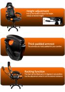 Enzo Gaming Chair Orange