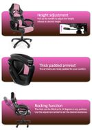 Monza Gaming Chair Pink