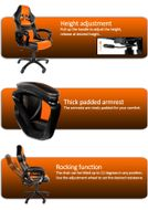 Monza Gaming Chair Orange