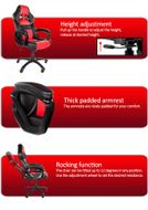 Monza Gaming Chair Red