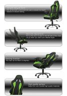 AKracing Nitro Gaming Chair Green (AK-NITRO-GN)