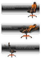 Premium Plus Gaming Chair Orange