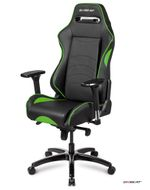 DXseat Gaming-stol P33/XG Professional class Black/ Green (DX-office-P33-XG)