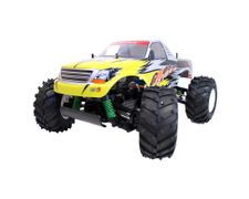 HBX MonsterTruck Yellow 1:10 2,4G RTR 4WD, 560-motor