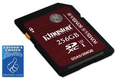 Kingston Flashminnekort - 256 GB - UHS Class 3 / Class10 - SDXC UHS-I