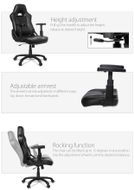 Mugello Gaming Chair Black