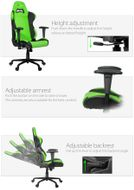 Torretta Gaming Chair Green