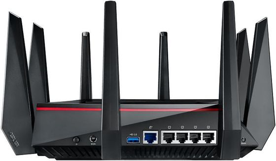 RT-AC5300 Nordic 802.11ac Wireless-AC5300 Tri-Band Gigabit Router, Exclusive Built-In Game Accelerator