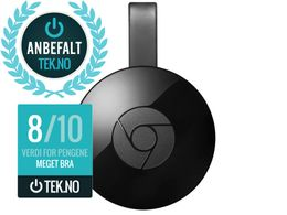GOOGLE Chromecast 2 Full-HD Mediespiller
