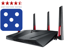 ASUS RT-AC88U Nordic Dual-Band Wireless-AC3100 Gigabit Router, Exclusive Built-In Game Accelerator