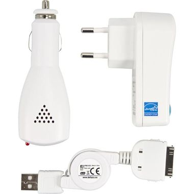 Charger for IPod/ Iphone for Car and 230V
