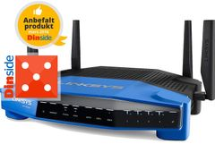 LINKSYS WRT1900ACS Dual-Band Wi-Fi Router With Ultra-fast 1.6GHz CPU