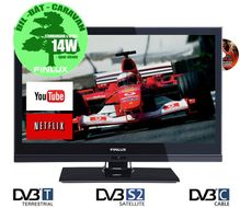 "19"" LED-TV/ DVD 12V/230V HD, Wi-Fi, Smart-TV, RiksTV-tuner,  HDMI, VGA, USB PVR, kun 14-19W, 19FLZR182LVDC"