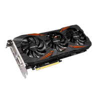 Gigabyte GeForce GTX 1080 G1 Gaming, 8GB GDDR5X, DL-DVI-D, HDMI 2.0, 3x DP 1.4 (GV-N1080G1 GAMING-8GD)
