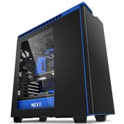 NZXT H440W New Edition Silent Ultra Matt Black/ Blue Window