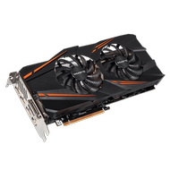GIGABYTE GeForce GTX 1070 WINDFORCE OC, 8GB GDDR5, DL-DVI-D, HDMI 2.0, 3x DP 1.4, DL DVI-D (GV-N1070WF2OC-8GD)