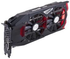 Inno3D GeForce GTX 1060 Gaming OC X2, 6GB GDDR5, DL-DVI-D, HDMI 2.0, 3x DP 1.4 (N1060-1SDN-N5GNX)