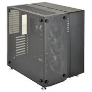 Lian Li PC-O9 Mid Tower ATX Sort/Transparent