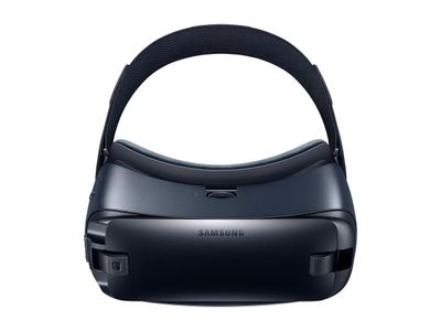 Samsung New Galaxy Gear VR Powered by Oculus, Blue/ Black,  VR-briller for Galaxy S7, S7 edge, Note 5, S6 edge+, S6, S6 edge (SM-R323NBKANEE)