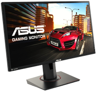 "ASUS MG248Q 24"" Full-HD spillskjerm 1ms, 144Hz, 350cd (MG248Q)"