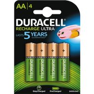 Recharge Ultra AA 2400mAh 4pk - Precharged