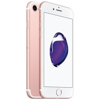 "iPhone 7 128GB Rosegull 4.7"" Retina, 12MB, A10-chip, ac-Wi-Fi, 4G/LTE, BT4.2, NFC, iOS 10 - Uten abonnement"