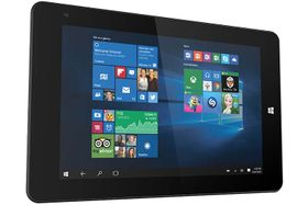 "8"" Gaming-nettbrett med spilldocking Intel Atom x5-Z8300, 2GB RAM, 32GB SSD, ac-Wi-Fi, BT4, microSD, Windows 10 Home"