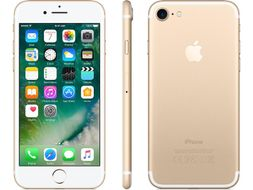 "iPhone 7 128GB Gull 4.7"" Retina, 12MP, A10-chip, ac-Wi-Fi, 4G/LTE, BT4.2, NFC, iOS 10 - Uten abonnement"