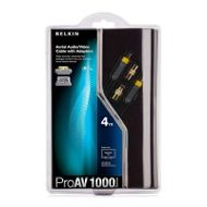 BELKIN Aerial Audio/ Video Cable With Adapters ProAV 1000 4m (AV10008QP4M)