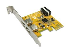 CC USB 3.0 PCI-Express Card 2port (1xInternal molex power)