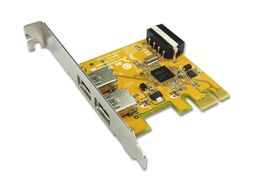 USB 3.0 PCI-Express Card 2port (1xInternal molex power)
