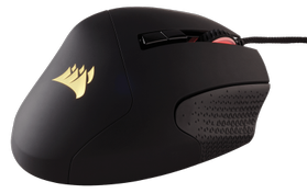 SCIMITAR RGB Gaming Mouse MOBA/MMO, Optical, black