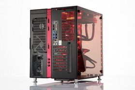 Drogo i940K Gaming PC Intel Core i7-7700K, 32GB, 512GB PCIe SSD + 4TB HDD, GeForce GTX 1080 8GB, 850W, Uten operativsystem (MULTICOM-i940K-KBLFB)